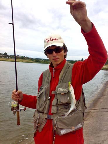 рыбная ловля на твистер