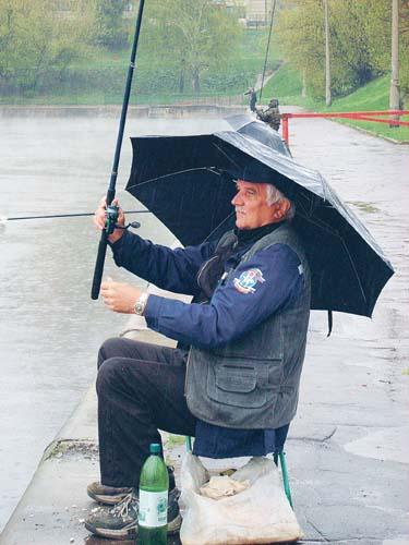 Хороший день погода на рыбалку